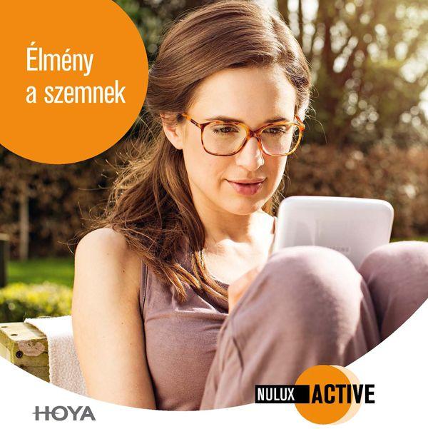 Hoya Nulux Active szemüveglencsék
