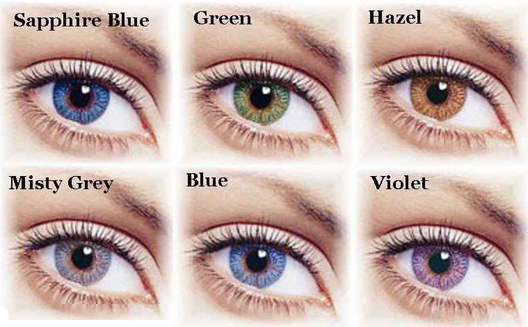 A gyönyörű szemek titka – a CibaVision* FreshLook színes kontaktlencse család