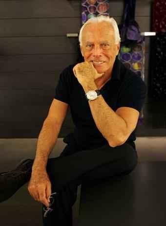 Giorgio Armani 75 éves