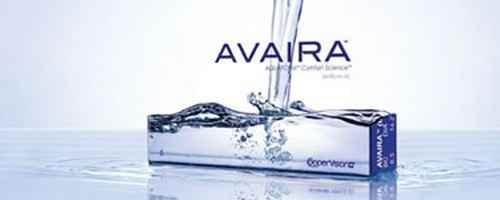 Cooper Vision Avaira, a természetesen nedvesítő szilikon hidrogél kontaktlencse