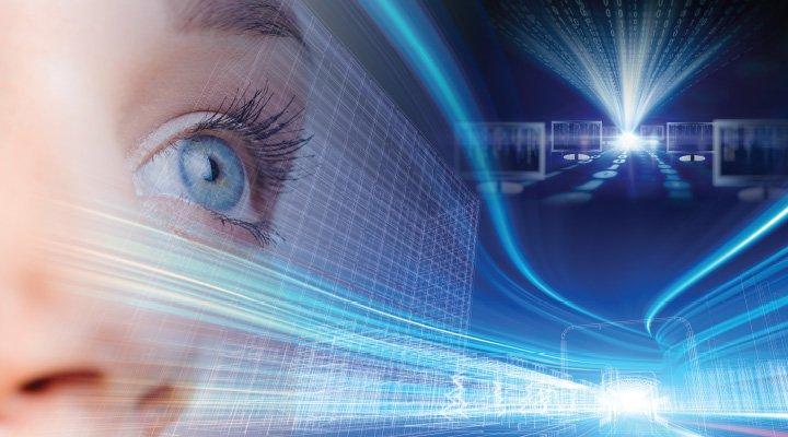 A számítógép és a szem