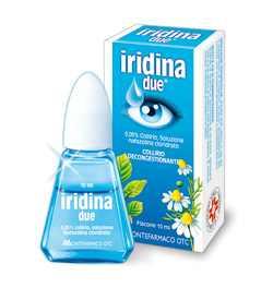 Iridina Due – szemcsepp a tiszta és fehér szemekért