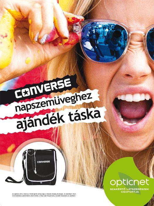 Converse napszemüvegek ajándékkal