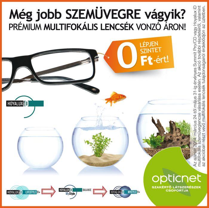 Lépjen szintet Hoya multifokális szemüveglencsékkel