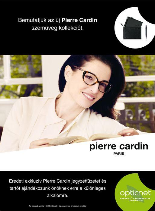 Pierre Cardin szemüvege mellé ajándékot adunk