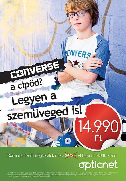 Kezdd Converse szemüvegben a sulit!
