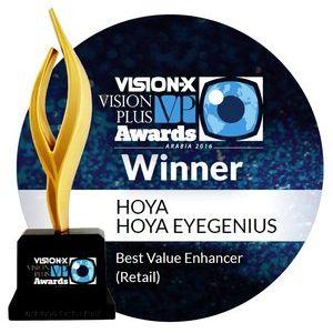 A Hoya EyeGenius Vision-X VP díjat nyert
