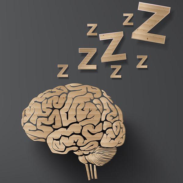 Agyunk egy része néha magától elalszik