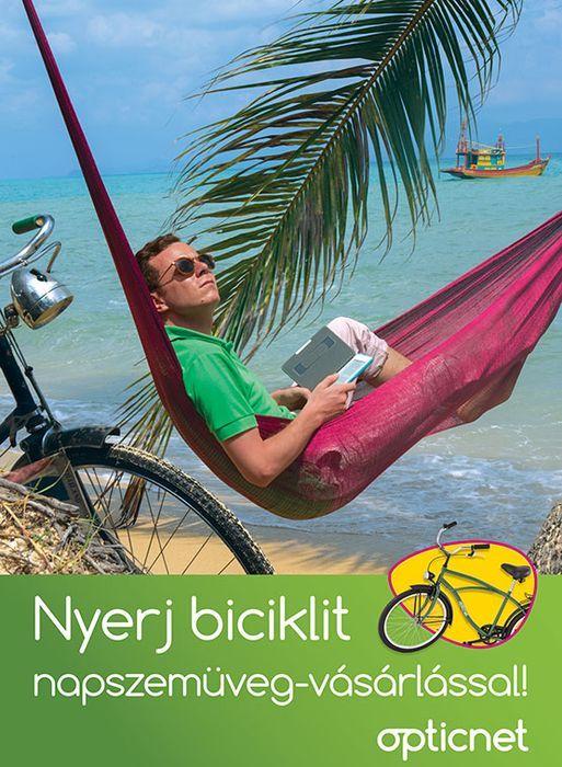 Nyerj biciklit napszemüveg-vásárlással!