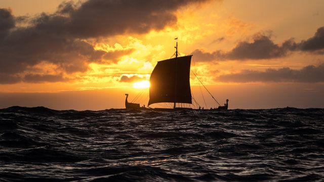Szemük iránytűivel navigáltak a vikingek